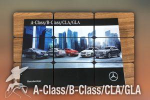 A-Class/B-Class/CLA/GLA カタログ△